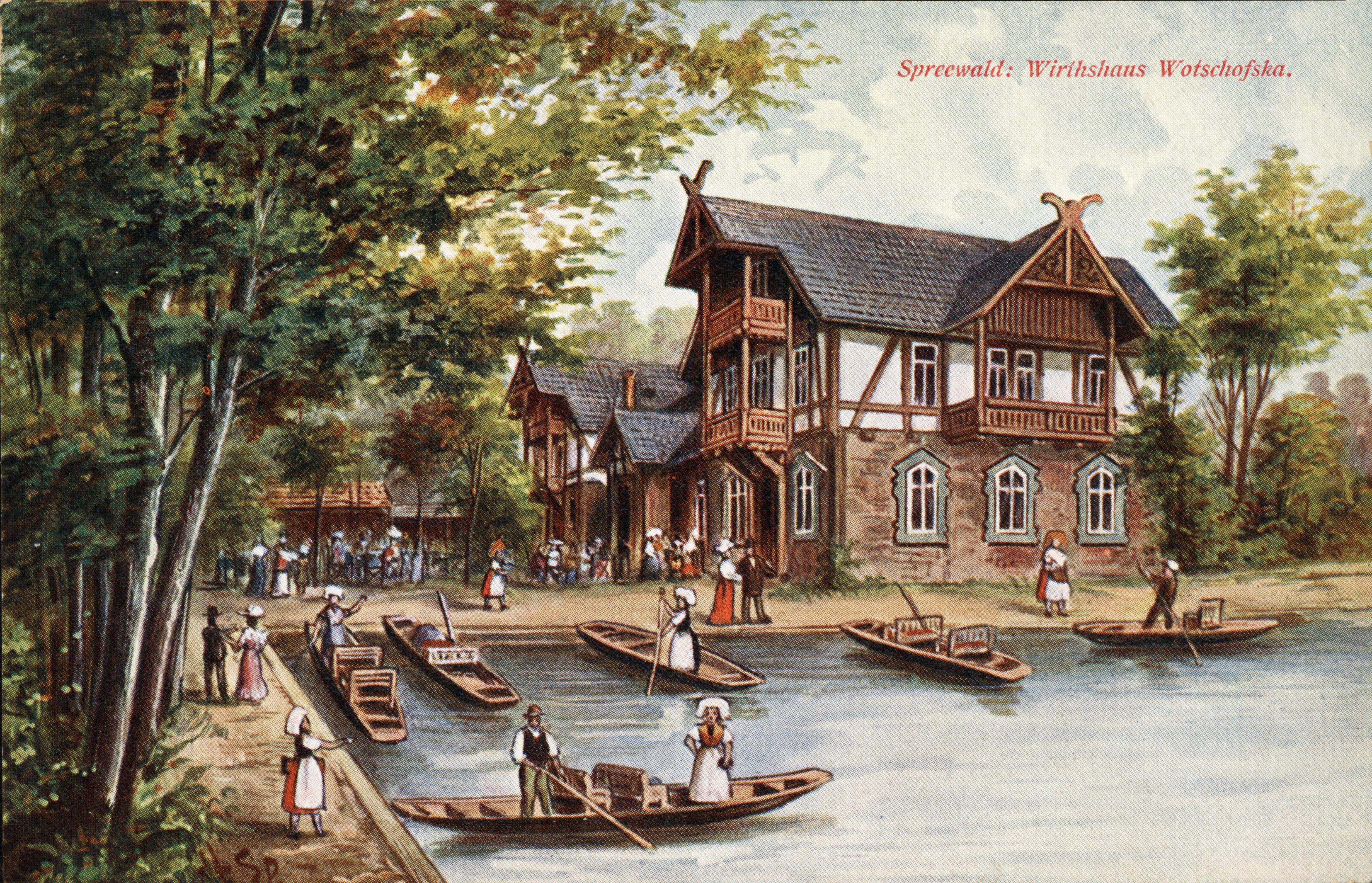 Historische Gaststätten im Spreewald – Seite 2 – Beckers Spreewaldblog