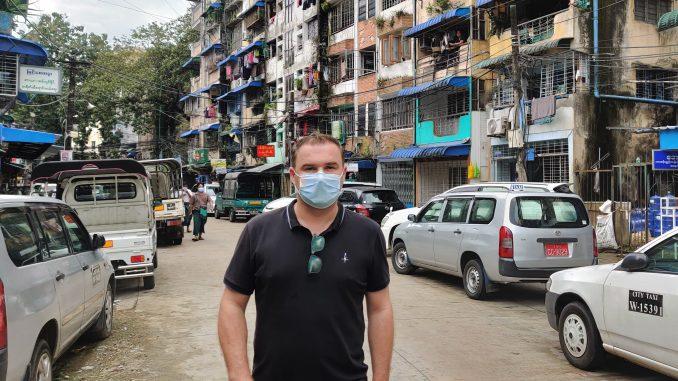 Carsten Schmidt in Rangon
