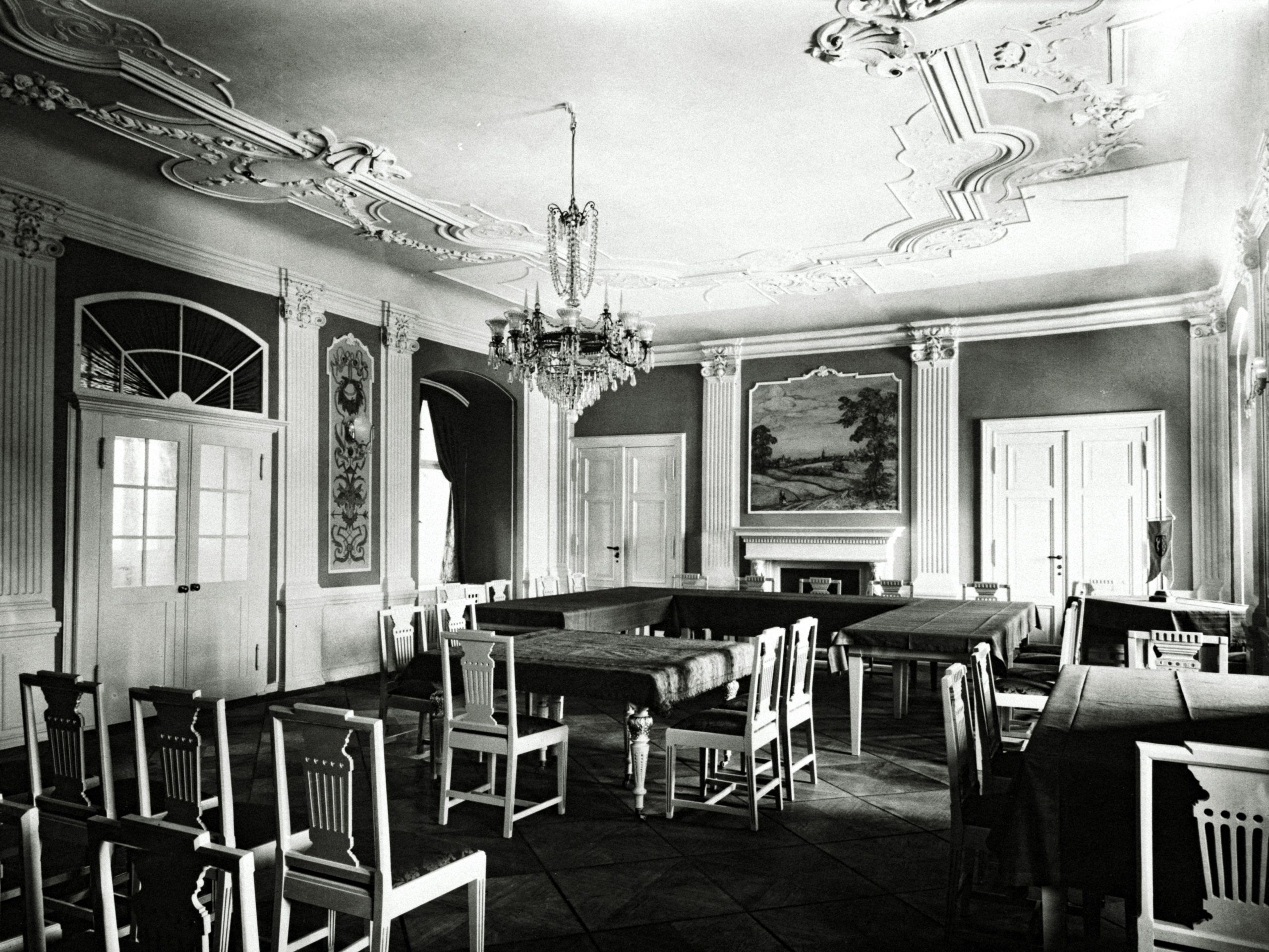 Rittersaal 1931 Südblick